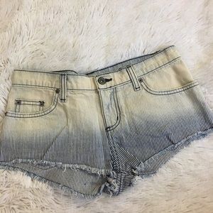 Carmar Light Stripped Jean Shorts (from LF)